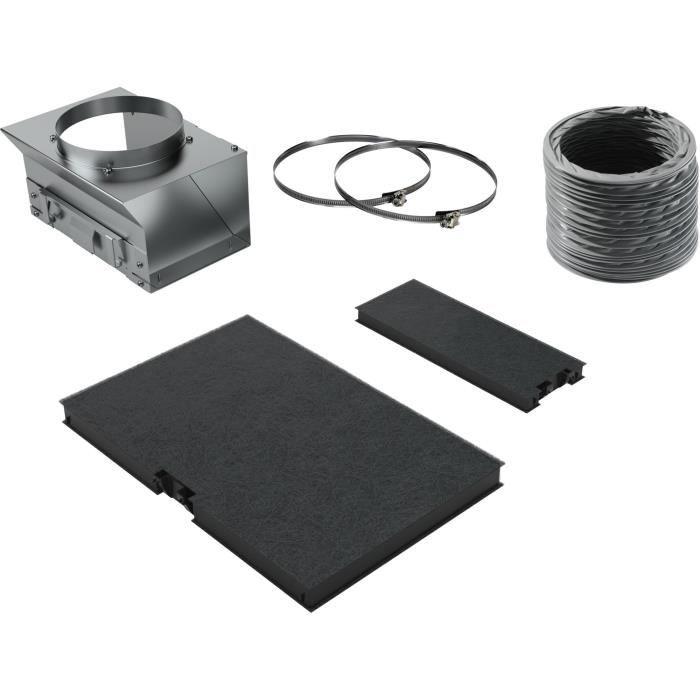 Siemens - kit de recyclage pour hotte installation avec cheminée - lz10aku00
