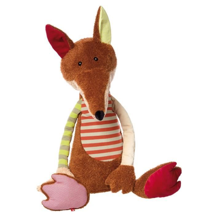 Renard géant - Sigikid Collection Patchwork Sweety