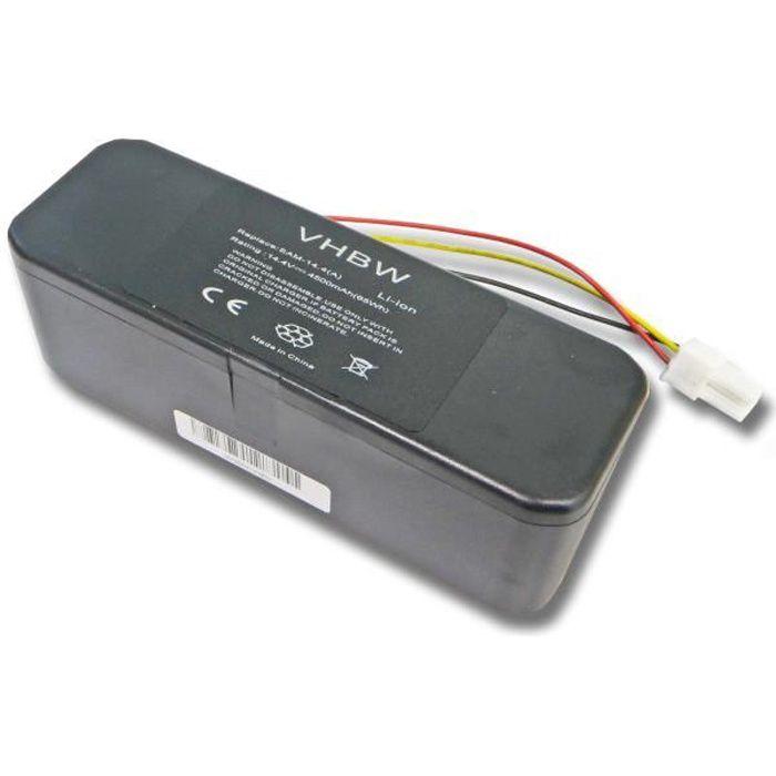vhbw Li-Ion batterie 4500mAh pour robot aspirateur Samsung Navibot SR8849, SR8850, SR8855