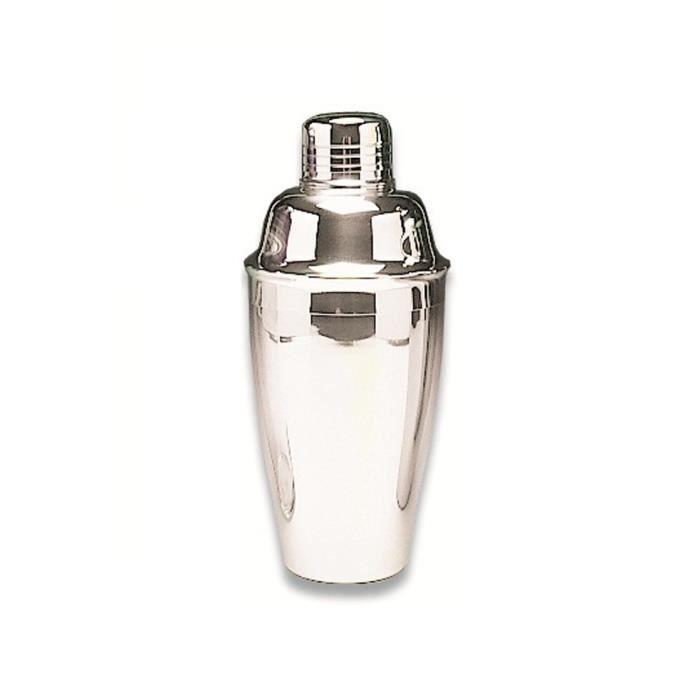Shaker inox 50cl en acier inoxydable