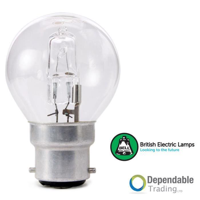 AMPOULE - LED Lot de 3 -18w = 25w BC (B22) Ampoule Halogène Bass