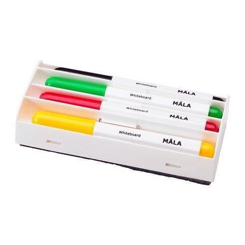 Ikea Mala Stylos Pour Tableau Blanc Lot De 4 Effaceur Cuisine Achat Vente Effaceur Correcteur Ikea Mala Stylos Pour Cdiscount