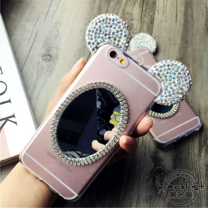 2 coque iphone 6 mickey minnie