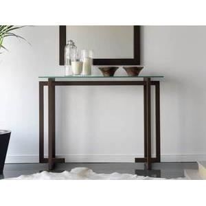 console verona plateau en verre achat vente console. Black Bedroom Furniture Sets. Home Design Ideas