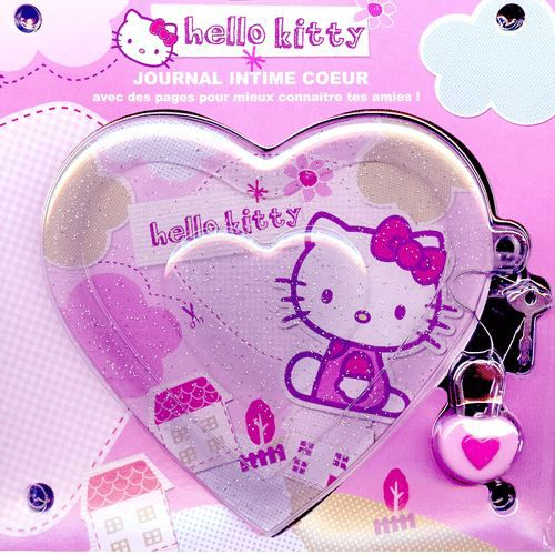 Journal intime hello kitty coeur achat vente journal intime journal intime cdiscount - Hello kitty coeur ...