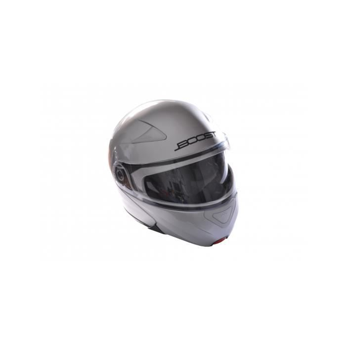 CASQUE MOTO SCOOTER Casque modulable boost gris B803 taille XS - Dirt