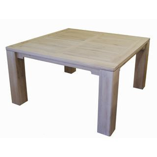 Table crr e ch ne c rus 100 ch ne finition c achat vente table mang - Table carree 8 couverts ...