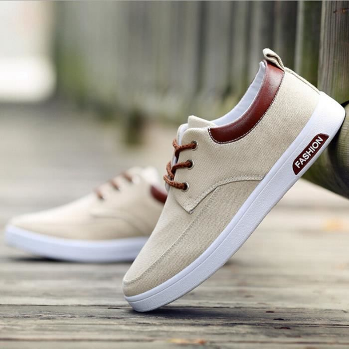 Canvas Sneakers Homme Chaussure Shoes Basket Sport Homme Skate Espadrilles Shoes Shoes Mode RBYqp8q