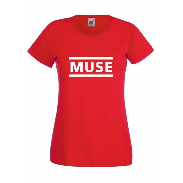 T-SHIRT T-shirt  femme Muse - T-shirt rock band 100% coton