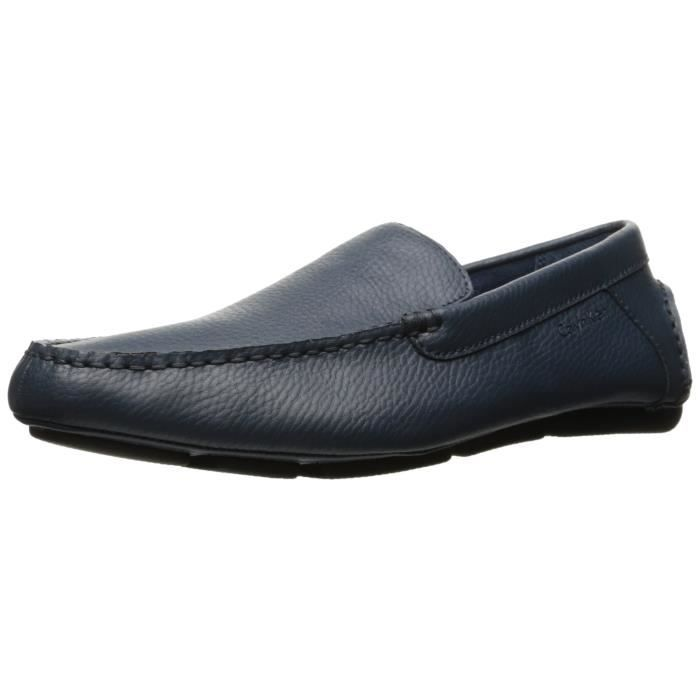 Calvin Klein Miguel Tumbled-leather Slip-on Loafer C961V Taille-44 1-2