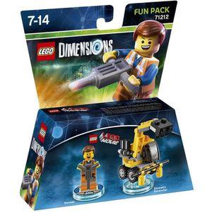 FIGURINE DE JEU Figurine LEGO Dimensions - Emmet - La Grande Avent