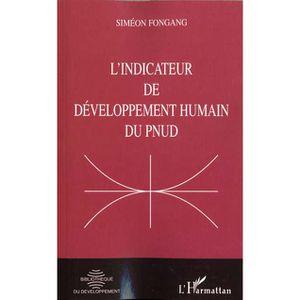 LIVRE GESTION L'indicateur de développement humain du PNUD