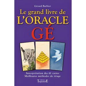LIVRE PARANORMAL L'Oracle Gé
