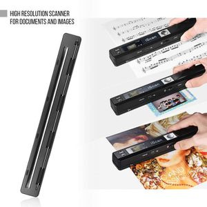 SCANNER Portable Sans fil HD Document et Images Scanner A4