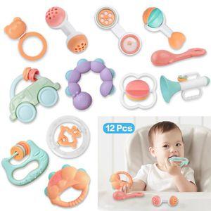 HOCHET Hochet Bébé en Plastique Hochet de dentition ensem