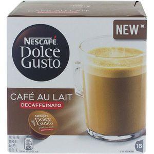 CAFÉ CD-496Nescafé Dolce Gusto café au lait DECAFFEINAT