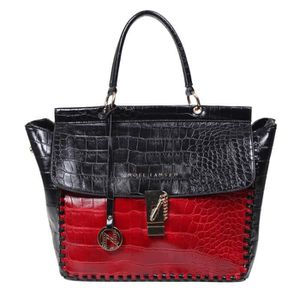 CARTABLE Femmes Satchel-relief Croc NNDUW