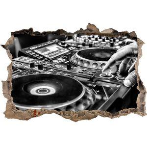 STICKERS Monocrome, moderne illuminé console DJ - ouverture
