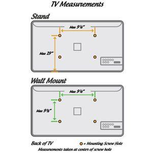 FIXATION - SUPPORT TV PRO Signal Support sur pied pour TV LCD écran 17-