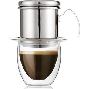 Acier Inoxydable VIETNAM VIETNAMIEN café simple goutte à goutte Filtre Maker Infuseur NEUF