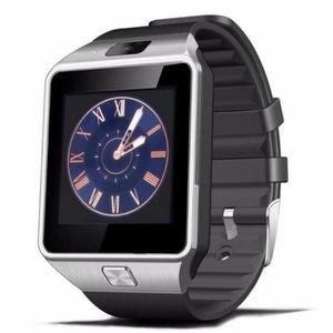 MONTRE CONNECTÉE Bluetooth Montre  Rectangle Cadran Smart Watch DZ0