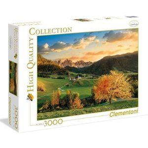 PUZZLE PUZZLE 3000 pièces - Les Alpes - 188 X 84 cm