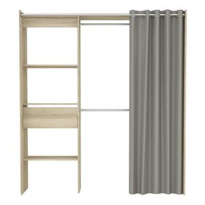 AMENAGEMENT DRESSING CHICAGO Kit dressing extensible contemporain décor