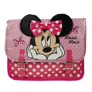TRANSPORT LOISIRS CRÉA. Disney Minnie Mouse Satchel Cartable, 32 Cm, Rose
