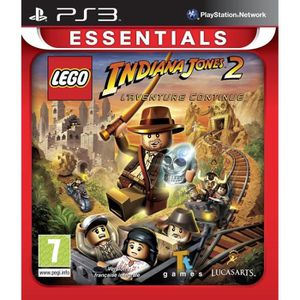 JEU PS3 Lego Indiana Jones : La Trilogie Originale Essenti