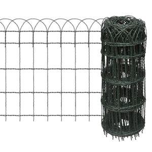 CLÔTURE - GRILLAGE Homgeek Version mise à jour Clôture de jardin Gril