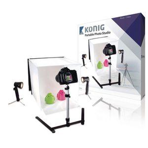 KIT STUDIO PHOTO KONIG KN-STUDIO10N Mini Studio Photo pliable 40 x