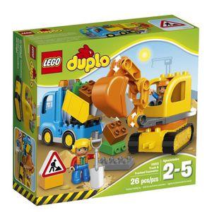 PELLE Lego Duplo Ville Truck & CHENILLES 10812, meilleur