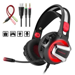 CASQUE AVEC MICROPHONE Casque Gamer Ps4 Casque Gaming Xbox One Switch 3,5