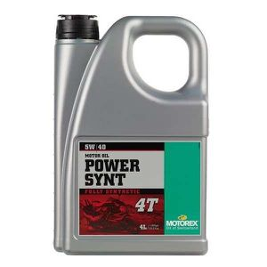 HUILE MOTEUR Huile moteur Motorex Power Synt 4T 5w40 4 litres