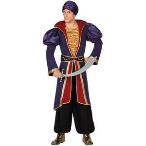 DÉGUISEMENT - PANOPLIE ATOSA Deguisement De Prince Arabe - Panoplie Adult