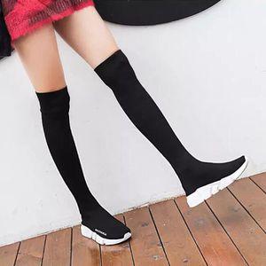 Baskets Femme Nouvelle Mode Chaussettes Chaussure Durable