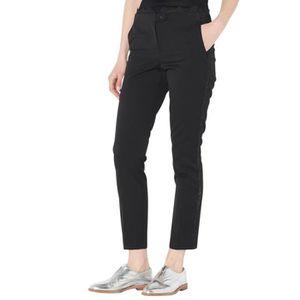 PANTALON Pantalon tailleur slim ceinture dentelle PAULINA L