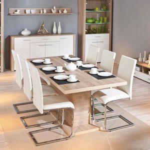 TABLE À MANGER SEULE Paris Prix - Table de Repas Extensible