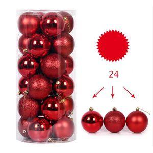 PRETYZOOM Boule Transparente /à Remplir No/ël D/écorations darbre de No/ël Suspendu de Bo/îte de Cadeau 20cm