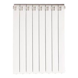 4 elementi Radiateur Radiateur Chauffage /à eau ou vapeur /él/éments en fonte daluminium marque: Fondital mod Blanc exclusivo B3/600//100/entraxe 600/mm 40x60mm