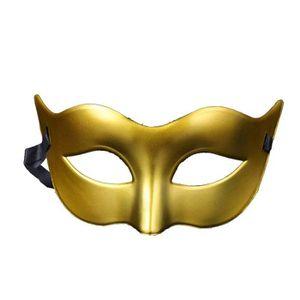Life Is Good Hommes ou Dames Plage de Valeur V/énitien Masque de Mascarade Partie des Yeux Masque Noir Brillant Carnaval