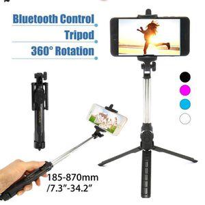 PERCHE - CANNE SELFIE TEMPSA Selfie Perche Bluetooth sans fil Télescopiq