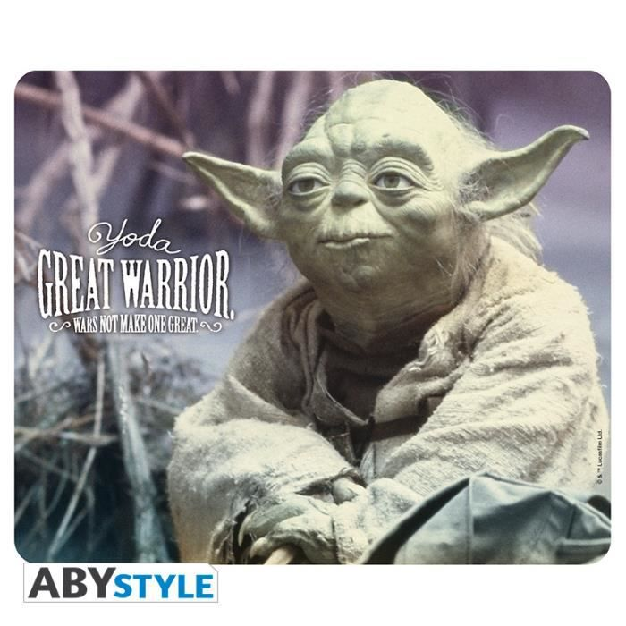Tapis de souris Star Wars - Yoda Great Warrior - ABYstyle
