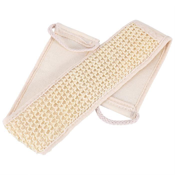 Bain de lavage pour sangle Loofah Douche Massage Laveur Éponge Soins du corps-OHL