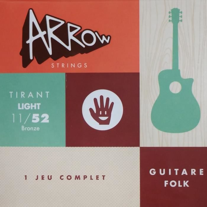 ARROW AR-FKL Jeu Folk Tirant Light