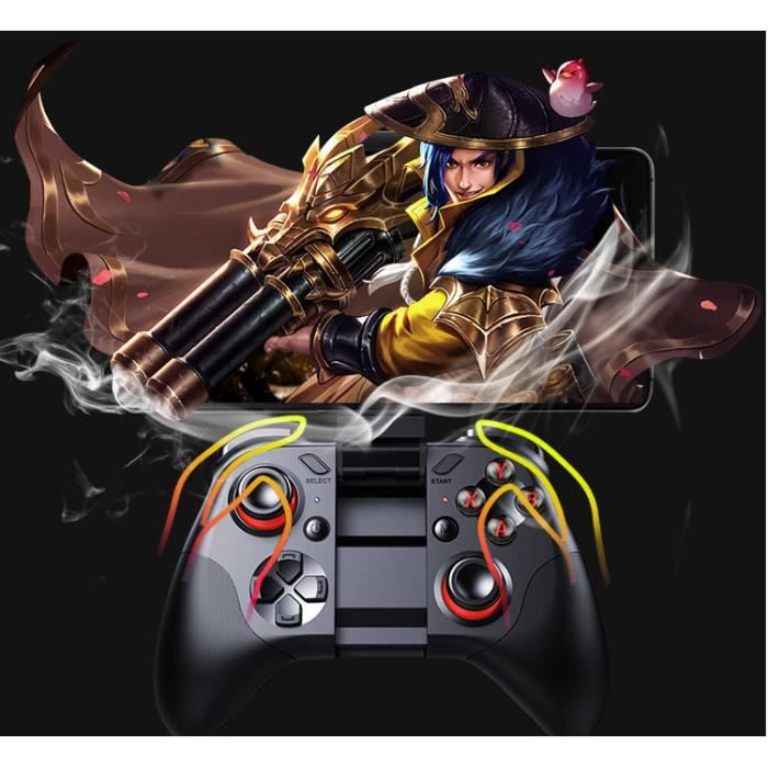 Manette pour Android/PC/IOS/TV Sans Fil, Maegoo Bluetooth Android Mobile Game Manette
