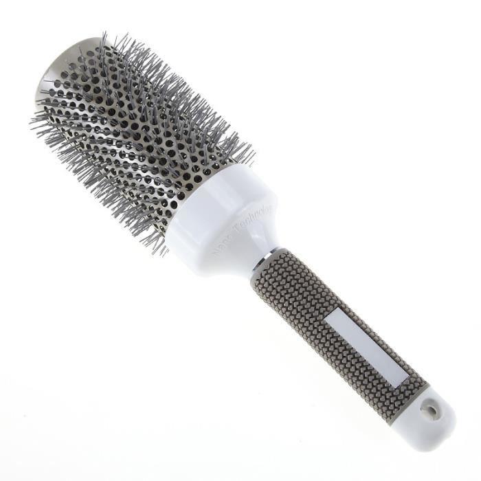 Ensemble de brosse à cheveux à rouler ronde baril brosse à friser peigne outils de coiffure barbier t76