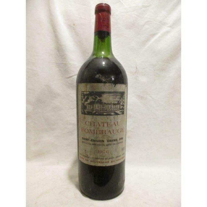 magnum 150cl saint-émilion château fombrauge grand cru rouge 1976 - bordeaux
