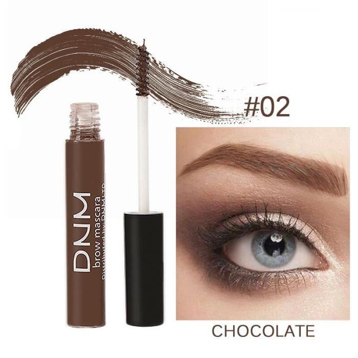 Kit de teinture pour sourcils, Gel naturel, crème de Mascara, tenue longue durée, teinte brune pour les yeux, LX82842507
