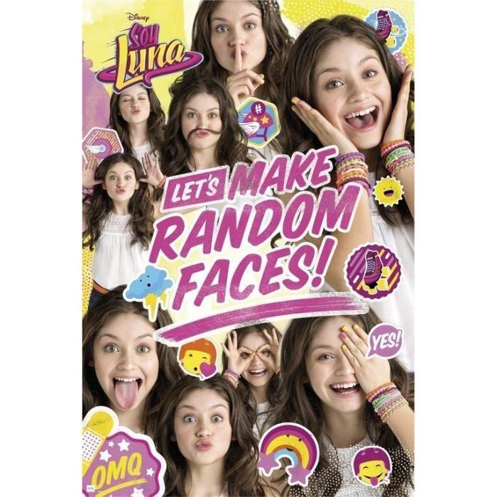 Poster Soy Luna Random Faces Group